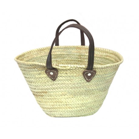 panier osier simple MM
