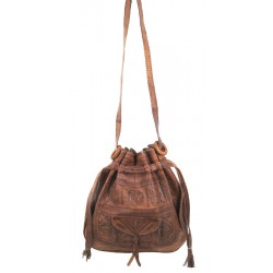 Sac cuir bourse Grand